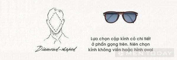 Cách chọn gọng kính phù hợp với gương mặt nam đẹp nhất