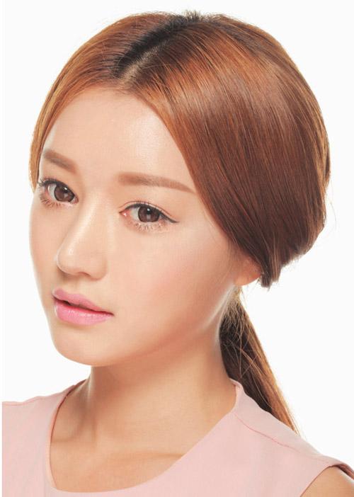 Cách chọn màu tóc nhuộm cho da ngăm giúp sáng da