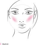 Cách đánh má hồng cho từng khuôn mặt đẹp tự nhiên