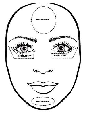 Cách trang điểm tạo khối cho khuôn mặt tròn, vuông, dài