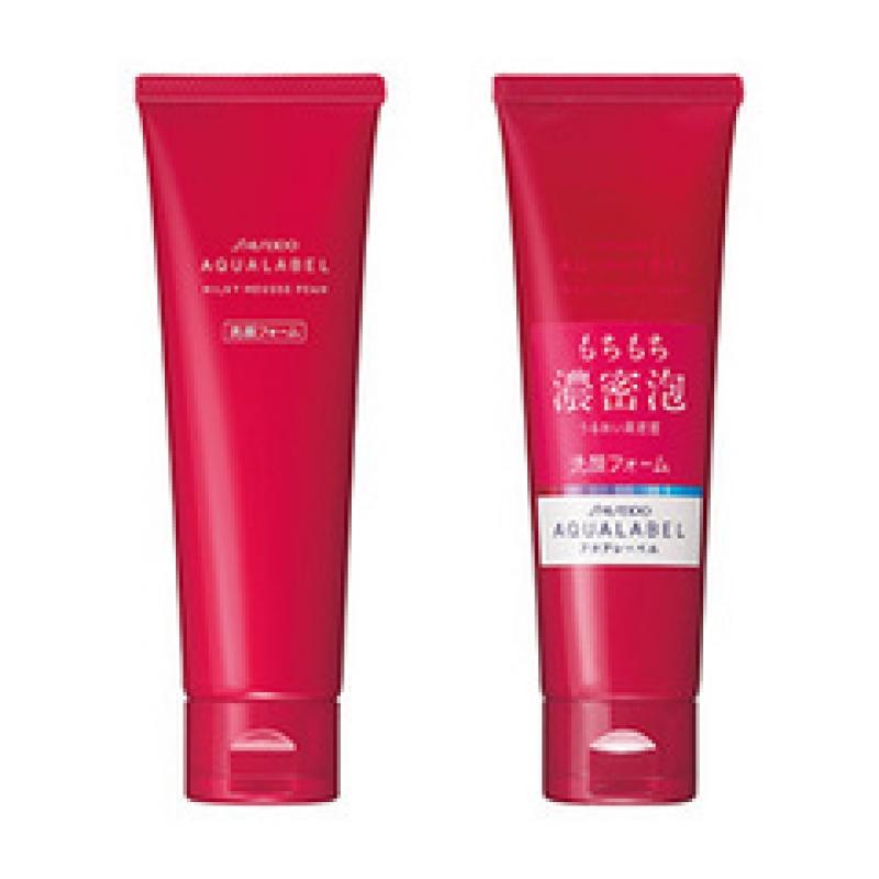 Sữa rửa mặt Shiseido Aqualabel màu xanh đỏ vàng