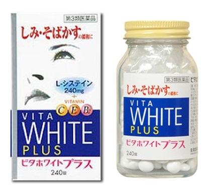 Viên uống Neo Vita White Plus: trắng da & trị nám toàn thân