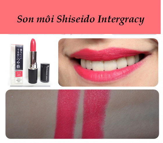 Son môi Shiseido Integrate Gracy Nhật Bản có tốt không?