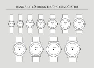 Cách chọn kích cỡ đồng hồ phù hợp với cổ tay