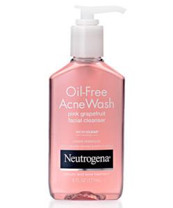 Gel rửa mặt trị mụn Neutrogena Oil Free Acne Wash Pink Grapefruit Facial Cleanser
