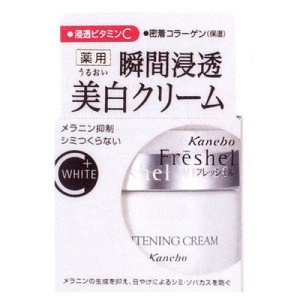 Kem dưỡng da ban đêm Kanebo Freshel White C Whitening Cream