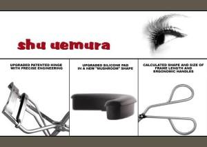 Hướng dẫn sử dụng kẹp mi Shu Uemura chon người mới Mở kẹp mi và giữ lông mi trong vài giây tại chỗ, lặp đi lặp lại nhiều lần 1 cách nhẹ nhàng, không được làm quá mạnh,từ từ di chuyển lên phía trên(bên ngoài) Hãy sử dụng thiết bị cuộn tóc lông mi trước khi sử dụng mascara . Hãy cẩn thận lau sạch bụi bẩn trước và sau khi sử dụng