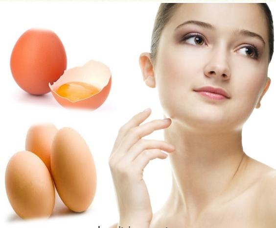 Mặt nạ lòng trắng trứng gà trị mụn đầu đen