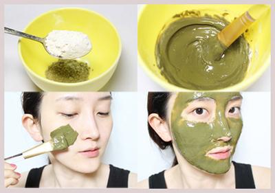 Cách đắp mặt nạ trà xanh trị mụn hiệu quả tại nhà