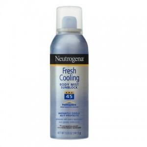 Xịt chống nắng neutrogena fresh cooling spf 45
