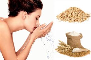 Cách sử dụng bột yến mạch để rửa mặt giúp da trắng mịn