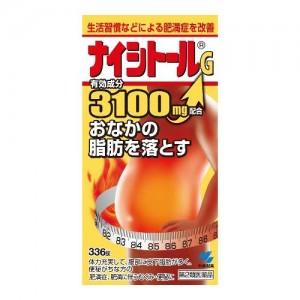 Viên uống giảm cân Naishitoru G 3100 Kobayashi – 336 viên
