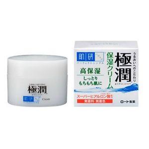 Kem dưỡng ẩm Hadalabo Gokujyun Hyaluronic Acid Moisturizing Cream