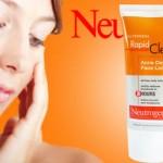 Đánh giá gel dưỡng da trị mụn Neutrogena Rapid Clear Acne Defense Face Lotion