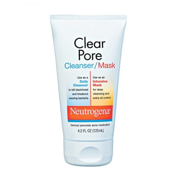Sữa rửa mặt trị mụn đầu đen Neutrogena Clear Pore
