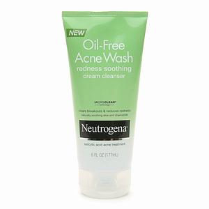 Sữa rửa mặt Neutrogena Oil-Free Acne Wash Redness Soothing Cream Cleanser