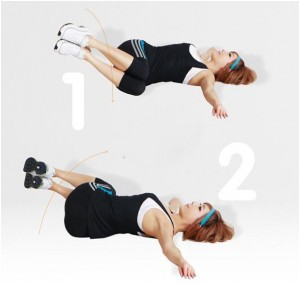 Bài tập giảm mỡ bụng trước khi ngủ chỉ mất 5 phút