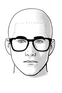 Chọn mắt kính phù hợp với khuôn mặt nam giới