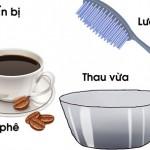 Nhuộm tóc bằng cà phê và trứng gà tại nhà cực dễ
