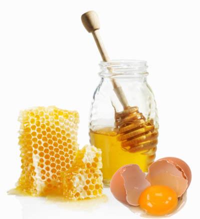 duogn toc bang trung ga mat ong