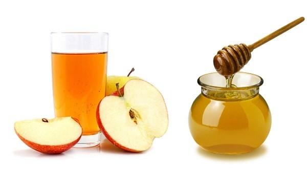 Giảm 4kg trong vòng một tháng bằng dấm táo+ mật ong