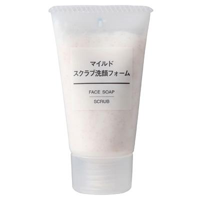 Sữa rửa mặt Muji face soap scrub 120g