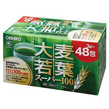 Bột lúa non Orihiro Barley Grass hộp 48 gói